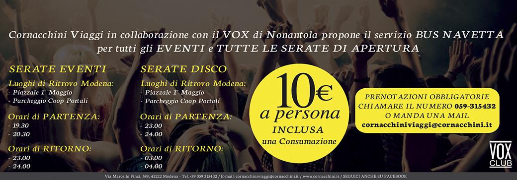 Vox Club - Cornacchini
