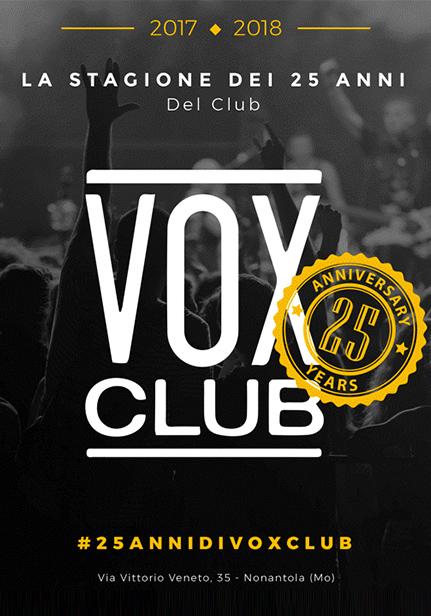 25 Anni di Vox Club